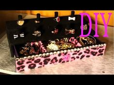 DIY - Organizador de Collares - Organized Necklaces - YouTube