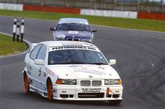 Snetterton with the BMW.