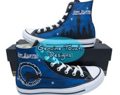 Custom Converse, Stargate Atlantis, Fanart, Wraith, Stars, Custom Chucks, painted shoes, personalized converse hi tops