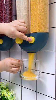 Kitchen Room Design, Home Room Design, Modern Kitchen Design, Interior Design Kitchen, Cool Gadgets To Buy, Cool Kitchen Gadgets, Cool Kitchens, Smart Kitchen, Diy Kitchen Storage
