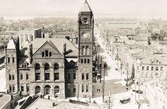 Tearing down Hamilton& history - Interactive - CBC Hamilton Romanesque Architecture, Architecture Old, Hamilton Ontario Canada, Make Way, York Street, Tear Down, New Pictures, Big Ben, Scotland