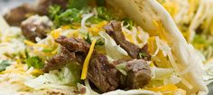 Taco Lovers, try this recipe.  Directions here >> (http://www.middletownmedical.com/chili-rubbed-steak-tacos/)