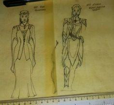 Elven Elder sketches