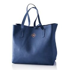 Everyday Leather Tote #makeyourmark