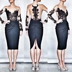 Rhea Costa beautiful lace/nude dress