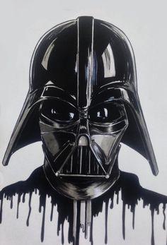 """Darth Vader Ink"" by Rodrigo Cardoso."