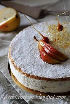Questa torta è super, se amate la ricotta è sicuramente il dolce che fa per voi, io lo trovo squisito!!!   Sono partita dalla ricetta di Sa...