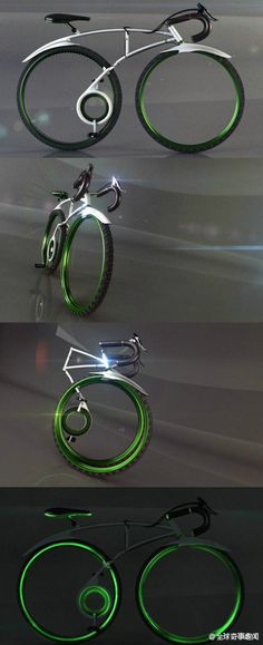 A cool bicycle...
