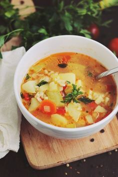 Romanian Food Traditional, Cooking Recipes, Healthy Recipes, Cooking Time, Vegan Soups, Pressure Cooker Recipes, Good Food, Food And Drink, Healthy Eating