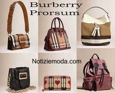 Borse Burberry Prorsum primavera estate 2016 donna