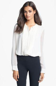 Diane von Furstenberg 'Esmely' Silk Blouse available at #Nordstrom 2013