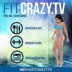Custom marketing and graphics for @fitcrazytv and their new look! Visit their website www.fitcrazy.tv #creativity #graphicdesign #graphicdesigner #marketing #fitnessmotivation #fitnessmarketing