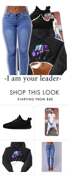 """."" by clinne345 ❤ liked on Polyvore featuring adidas Originals and NIKE"