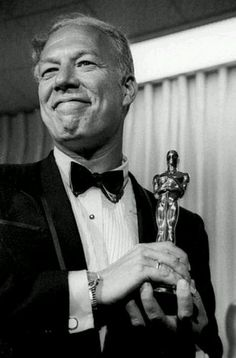 7/12/14 9:16a The Academy Awards Ceremony 1968: George Kennedy Best Supporting Actor Oscar for ''Cool hand Luke'' Presenter: Patty Duke 1967 belindacollier.com
