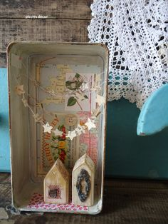 Vintage and altered box