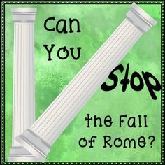 $ In this engaging activity from History Gal, the class is divided into six groups that attempt to solve the problems plaguing Rome in the 300s-400s AD: military unemployed people living in the city of Rome wealthy landowners poor farmers living in Gaul Christians Visigoths