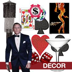 james bond 007 birthday james bond 007 party themen spionage und runder geburtstag. Black Bedroom Furniture Sets. Home Design Ideas