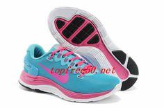 8d5532bbff1 nN2hQF Nike LunarGlide 5 Shield Blue Pink Women s Shoes Nike Shoes Usa