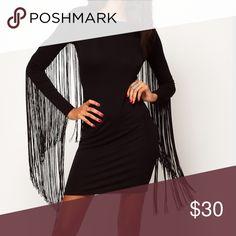ASOS Fringe Dress Great dress!! ASOS Dresses Midi