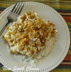 Ritzy Chicken: Easy Weeknight Dinner Recipe