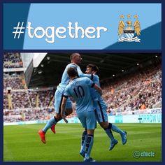 Together #MCFC #manchester