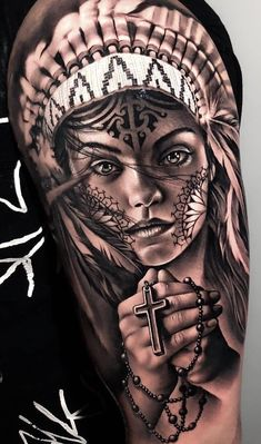 Best Arm Tattoos – Meanings, Ideas and Designs for This Year Part arm tattoo ideas; arm tattoo for girls; arm tattoos for girls; arm tattoos for women; Native Tattoos, Wolf Tattoos, Arm Tattoos, Body Art Tattoos, Voll Arm-tattoos, Indian Girl Tattoos, Indian Women Tattoo, Mädchen Tattoo, Gray Tattoo