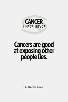 Not this Cancer, I just watch the lies come out and laugh..  Exposing the lies would take the fun outa life!!