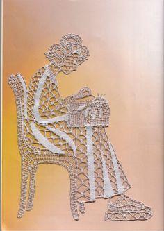 pattern bobbin lace by CRISTALSHOP on Etsy, €15.00