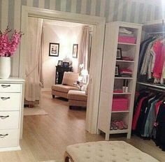 ~Wishing I could have a bedroom/closet like this one~
