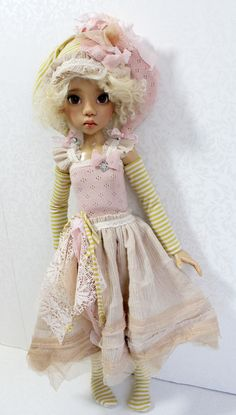 So beautiful doll by Kaye Wiggs