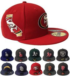 New Era 59FIFTY - State Fill Collection - MLB NFL Hat Cap New Era 59fifty f9b59f59f86