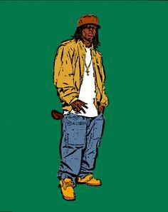 90s Pop Art | Lil Wayne Pop Art,Cartoon by dtime90 on DeviantArt