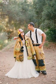 Firefighter Wedding - Incorporate your job!