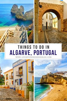 Are you planning to travel to Portugal? Here's your guide to things to do in Algarve Portugal. I holiday in Portugal I things to do in Portugal I where to go in Portugal I what to do in Algarve I holiday in Algarve I places to go in Portugal I what to do in Algarve I places to visit in Algarve I Portugal travel I Europe travel I Europe holiday destinations I where to holiday in Portugal I Portugal destinations I #Portugal #Algarve #Europe Portugal Destinations, Places In Portugal, Visit Portugal, Portugal Travel, Spain And Portugal, Europe Destinations, Holiday Destinations, Road Trip Europe, Europe Travel Guide