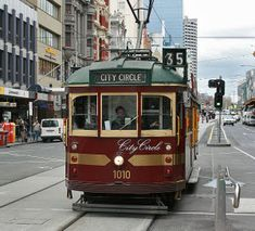 City Circle Tram | Free Tourist Tram. Great way to get around city & stops every 12 minutes along circular route.