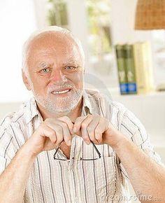 Angry Grandpa Face >> Hide-the-pain-Harold | Know your meme | Pinterest | Meme, Memes and Dankest memes