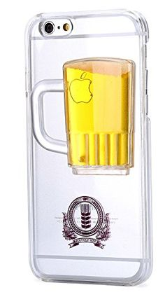 $9.9 including shipping Beer iPhone 6 /Plus Case, Desen® [Non-Slip] [Exact-Fit] Case Slim [Fit Series] [Thin Fit] [Smooth Transparent]