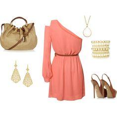 I like one sleeve/shoulder dresses a lottt