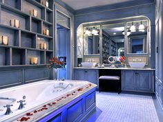 Parisian Escape - Chic Makeup Vanities and Dressing Tables for Her on HGTV