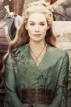 cersei lannister - game of thrones also Jocelyn in the upcoming movie City of Bones #MortalInstruments