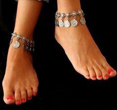 Купить Цыганский античная турецкие монеты ножной браслет на лодыжку пляж ноги украшения этнических племен фестиваль 1 шт. 2104 м и другие товары категории Ножные браслеты в магазине Baylin jessie's store на AliExpress. браслет с и для изготовления ювелирных изделий браслет
