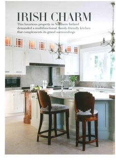 This luxurious kitchen in Utopia magazine features the Hargrave Bridge and the Hargrave Monobloc which adds those finishing touches. Luxury Kitchens, Multifunctional, Bridge, Magazine, Table, Furniture, Home Decor, Interior Design, Home Interior Design