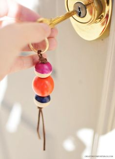 DIY To Try: Wooden Beads
