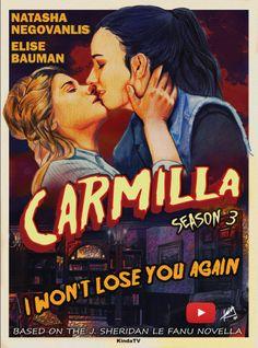 Dear Creampuff… Happy Valentine's day. Carmilla And Laura, Carmilla Series, Lesbian Art, Lesbian Love, Elise Bauman, Saga, Lost Soul, Cool Posters, Series Movies