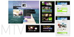 Diseño de site y campaña online para #MTV Vueling. #web