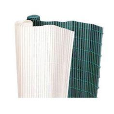 Canisse PVC double face blanc L.3 x H.1,8m