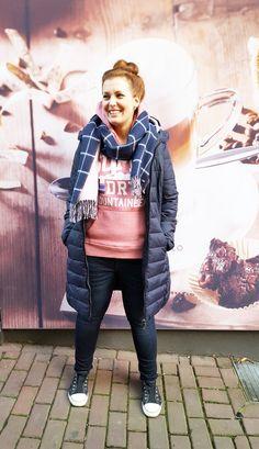 Outfit der Woche! Steppmantel: Tom Tailor Denim – Hoodie: Superdry – Jeans…