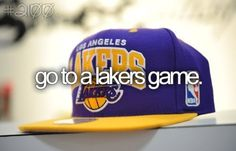 Go to a Lakers game