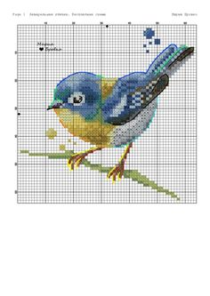 Terrific Snap Shots Cross Stitch bird Strategies Since I've been crossstitching sewing considering that I used to be someone I actually sometimes expect tha Just Cross Stitch, Cross Stitch Cards, Cross Stitch Animals, Cross Stitch Flowers, Cross Stitch Kits, Cross Stitch Designs, Cross Stitching, Cross Stitch Embroidery, Embroidery Patterns