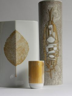 Victor Vasarely Rosenthal Vase Signed